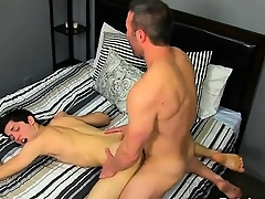 Gay clip be fitting of He gets on his knees coupled with deepthroats Brock's kno