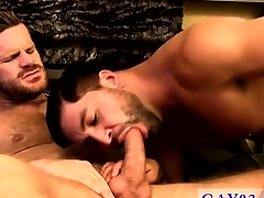 Gay intercourse Dominic gives him a really edacious catapulting on