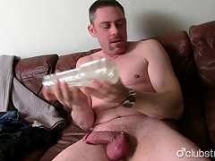 Sexy Straight Daddy A-one Masturbating