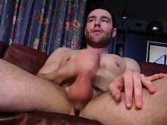 Alluring Straight Guy Tommy Masturbating