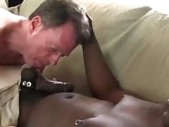 Dameon Sadi stuffing Rick Jagger ass with his fat black cock