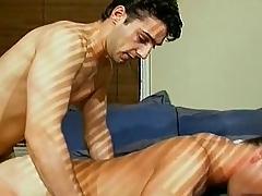 Hot berth gay fuckas suppliant does not let go of fat dick