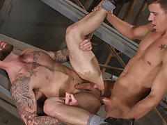 Chris Bines & JJ Knight in Cruising Grounds, Scene 01 - HotHouse