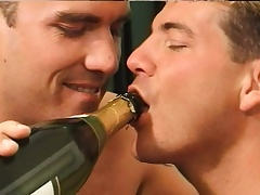 Two handsome studs exchange intense oral pleasures and enjoy anal sex